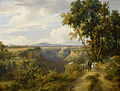 Jacques Raymond Brascassat - Un chevrier et son troupeau dans un paysage italien.jpg