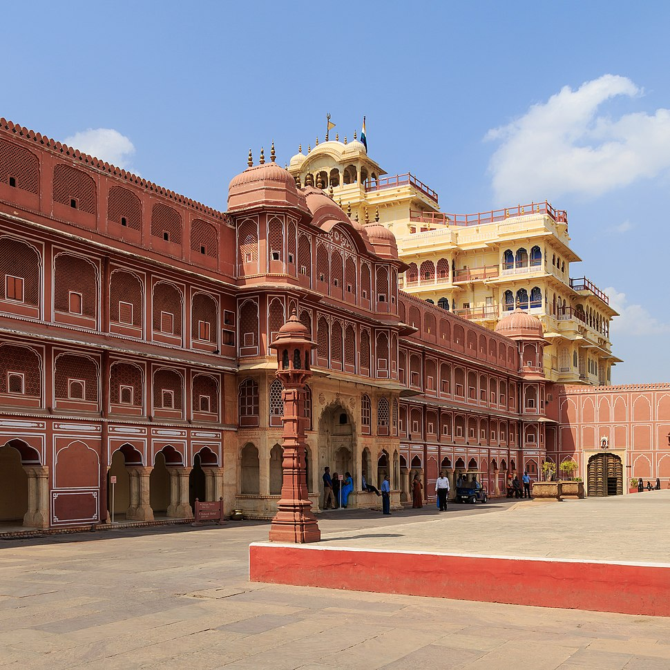 Jaipur 03-2016 19 City Palace complex