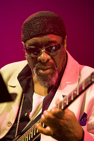 James Blood Ulmer - Ulmer, performing at the Moers Festival, 2012
