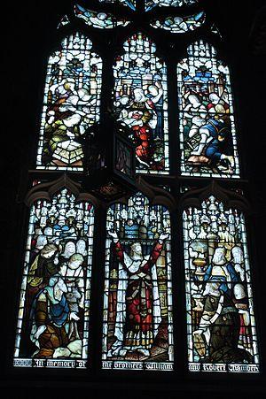 James Falshaw - James Falshaw memorial window, St Giles Cathedral, Edinburgh