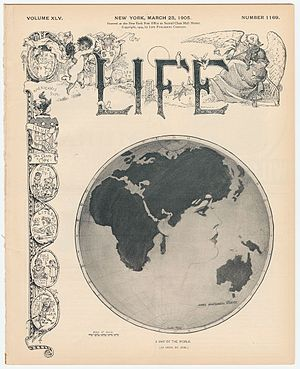 James Montgomery Flagg - Image: James Montgomery Flagg The World As Seen By Him 1905 Cornell CUL PJM 1148 01