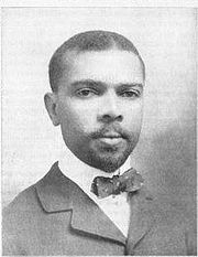 Aged around 30 at the time of this photo, James W. Johnson had already written Lift Ev'ry Voice and Sing and been admitted to the Florida bar.
