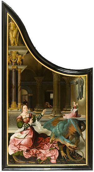 Jan Rombouts I - St. Margaret of Antiochia