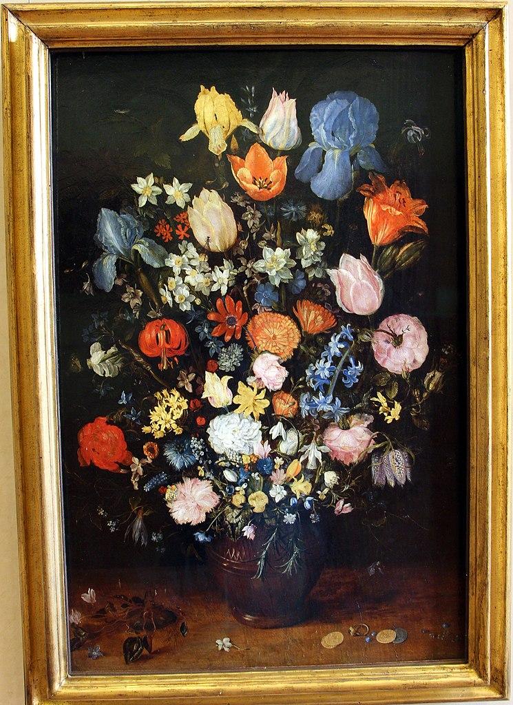 Fiori Con A.File Jan Bruegel Il Vecchio E Il Giovane Vaso Di Fiori Con