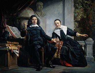 Haarlems Dagblad - Portrait of Abraham Casteleyn and his Wife, Margaretha van Bancken, by Jan de Bray, 1663