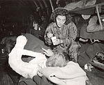 Jane Kendeigh USN Flight Nurse 1945 a