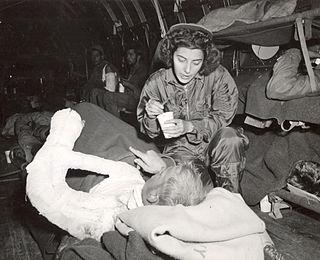 Flight nurse Specialist in rescue/evacuation patient care