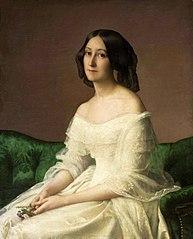 Portrait of Hortense Thayer née Bertrand.