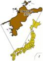 Japan Ehime Matsuyama map small.png