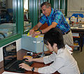 Japanese researchers study World War II battle at New York State Military Museum 140729-Z-ZZ999-013.jpg