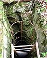 Jaskinia Ewy drabina 02.05.2011 p.jpg