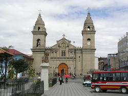 The Cathedral of Jauja, the first in Peru (and South America), was ordered to be built by Francisco Pizarro.