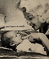 Jayne Mansfield and son Miklos, 1959.jpg