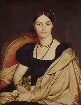 Jean-Auguste-Dominique Ingres - Portrait de Madame Duvaucey - Google Art Project.jpg