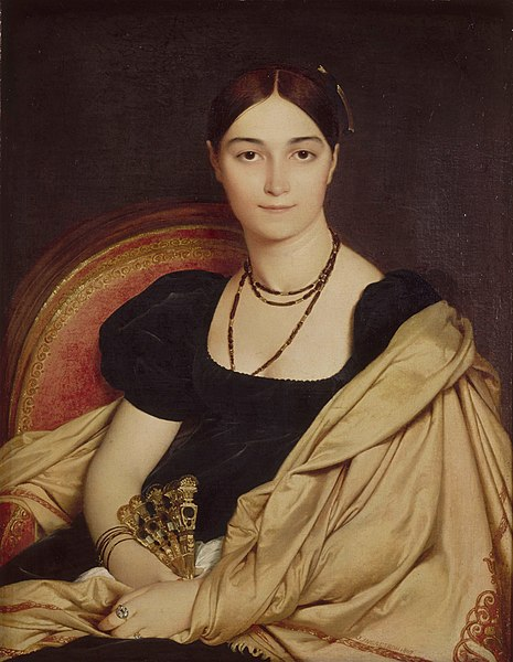 Fichier:Jean-Auguste-Dominique Ingres - Portrait de Madame Duvaucey - Google Art Project.jpg