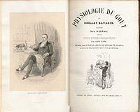 1848年発行の『美味礼賛』の ...