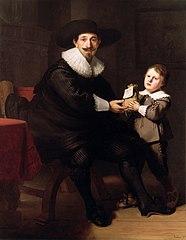 Portraits of Jean Pellicorne and his Son Casper