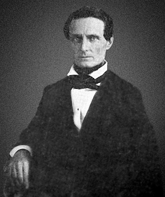 Jefferson Davis - Jefferson Davis around age 39, c. 1847