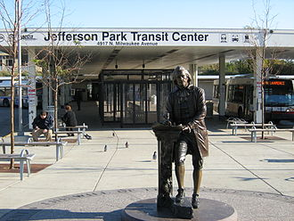 Jefferson Park Transit Center - Bus Terminal at the Jefferson Park Transit Center