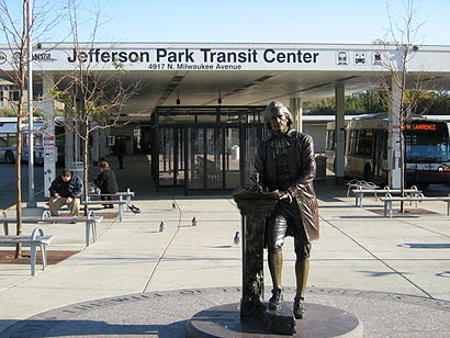 How to get to Jefferson Park Transit Center in Chicago by