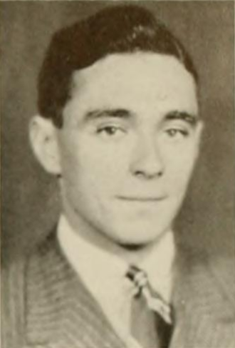 Jerome Bruner - Bruner pictured in the Chanticleer 1936, as a junior at Duke University