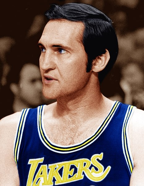 Jerry West Lakers 1972 champions