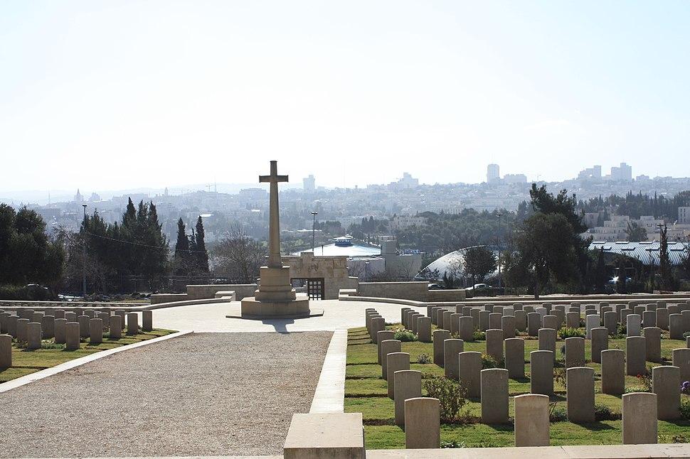 Jerusalem war cemetery 2
