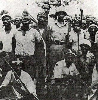 Niemba ambush - Baluba militiamen in 1962