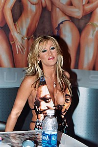 Jill Kelly en 2003 Adult Entertainment Expo