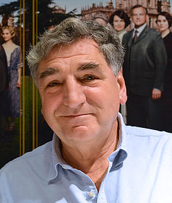 Jim Carter i Stockholm i december 2013.