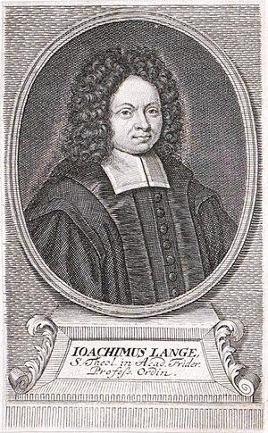 Gardelegen - Joachim Lange around 1750