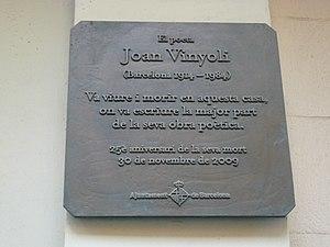 Joan Vinyoli cover