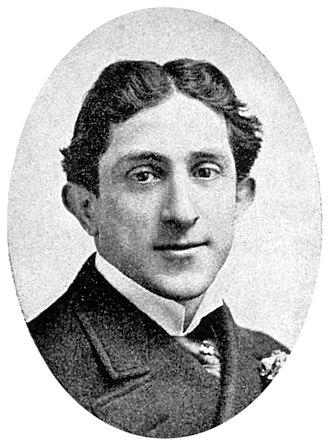 Joe Weber (vaudevillian) - Joe Weber in 1901