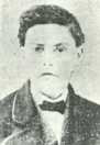 "An image of ""Little Joe"" Monahan, previously Johanna Monahan, published in a Buffalo newspaper upon his death in 1904."