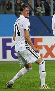 Johan Lædre Bjørdal Norwegian footballer