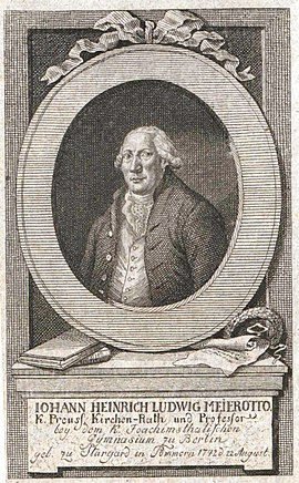 Johann Heinrich Ludwig Meierotto