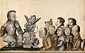 Johann Caspar Spurzheim giving a phrenological demonstration Wellcome V0011104.jpg