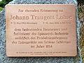Johann Traugott Lohse-Gedenktafel (Schloss Schlettau).jpg