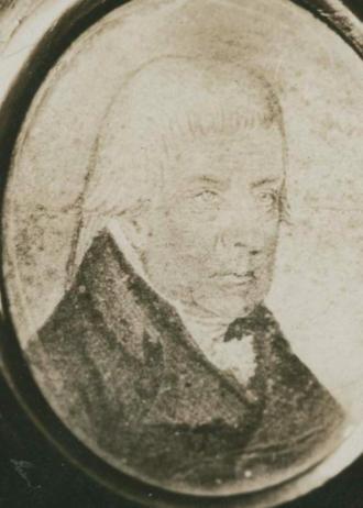 Raid on Dartmouth (1751) - John George Pyke, Only image of survivor of the Raid on Dartmouth (1751)