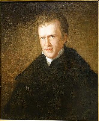 John Neal (writer) - Portrait of John Neal by Sarah Miriam Peale, c. 1823
