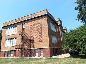 Johnson School (Davenport, Iowa) - Image: Johnson School (Davenport, Iowa)