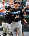 Jon Rauch and José Molina on June 5, 2011.jpg