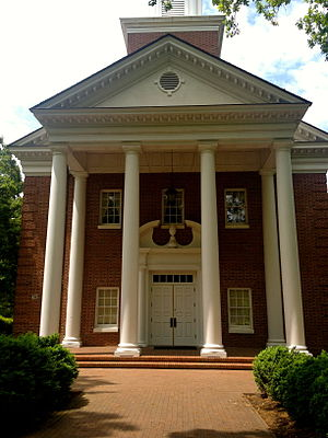 Meredith College - Jones Chapel