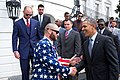 Jonny Gomes meets Obama 2014.jpg
