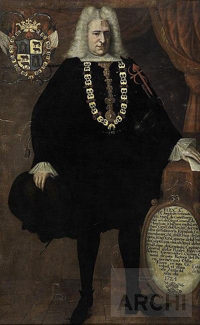 Retrato de José de Armendáriz.