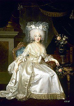 Joseph Boze en collaboration avec Robert Lefèvre, Portrait de Marie-Joséphine-Louise de Savoie, comtesse de Provence (1786).jpg