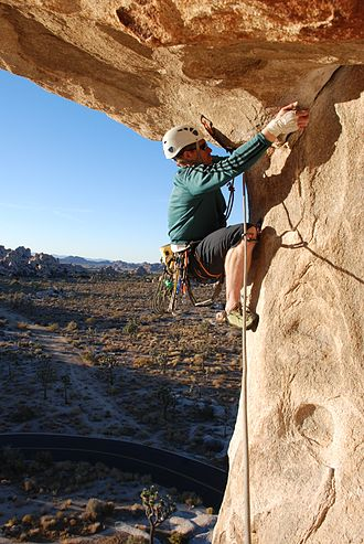 Smearing foothold Joshua Tree NP - North Overhang - 4.jpg
