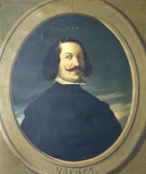 File:Juan de Valdés Leal en un retrato del siglo XIX.png