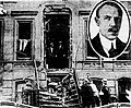 Judge Charles C Knott insert with house in NYC after an anarchist bomb 1919.jpg