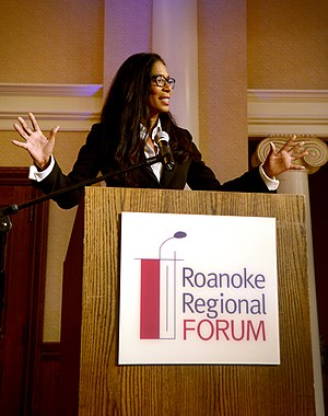 Judy Smith - Judy Smith speaking at Roanoke College in 2014